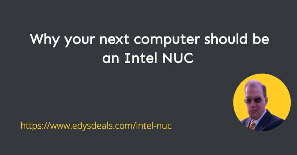 Intel NUC minicomputer