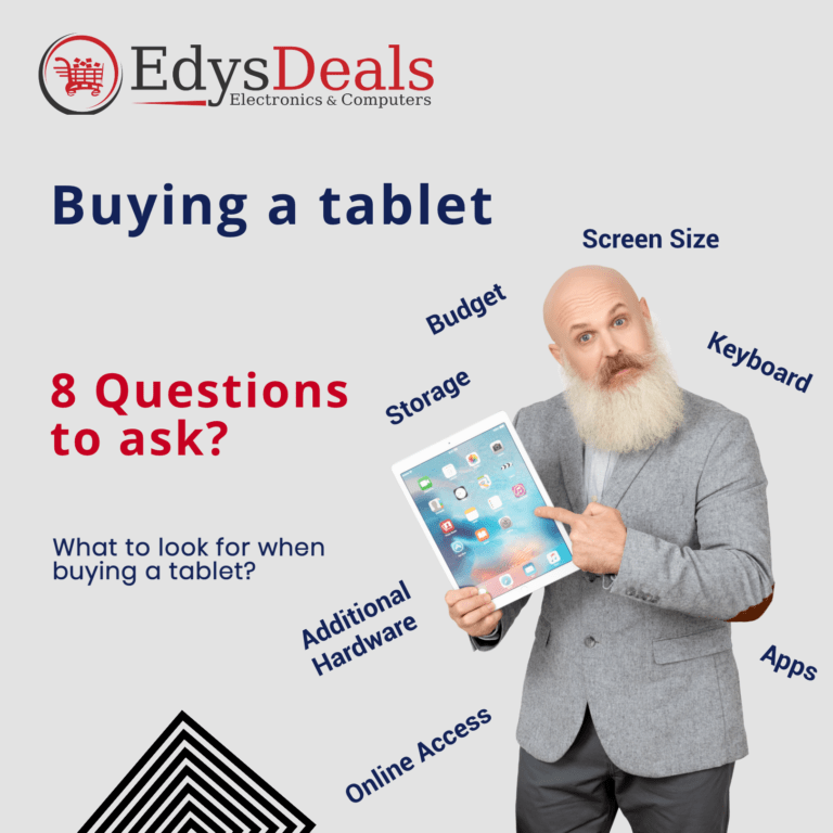 Buying a tablet: 8 questions to ask